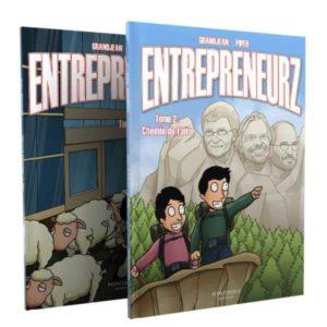 Pack 2 BD Entrepreneurz: Tome 1 et Tome2