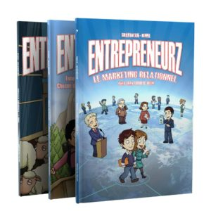 Pack 3 BD Entrepreneurz: Tome 1, Tome2, Tome MLM